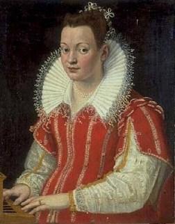1 Lavinia Fontana (1552-1614) Portrait of Bianca Cappello (1548-1587) 1590