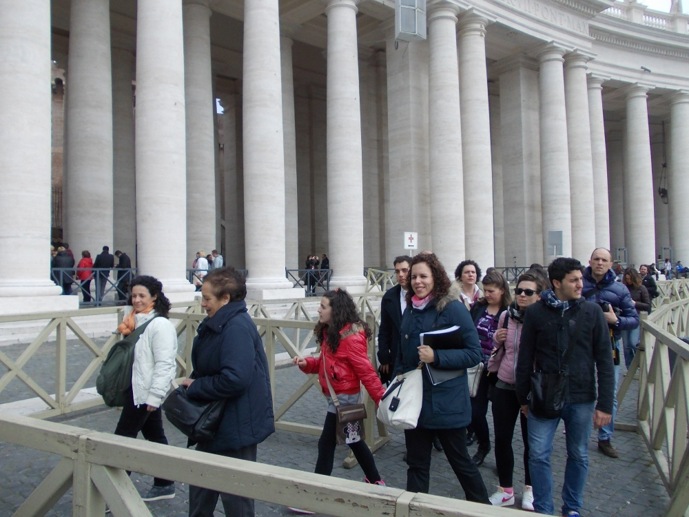 Our Choir Sings at Rome's (and the World's) Greatest Church (5/6)